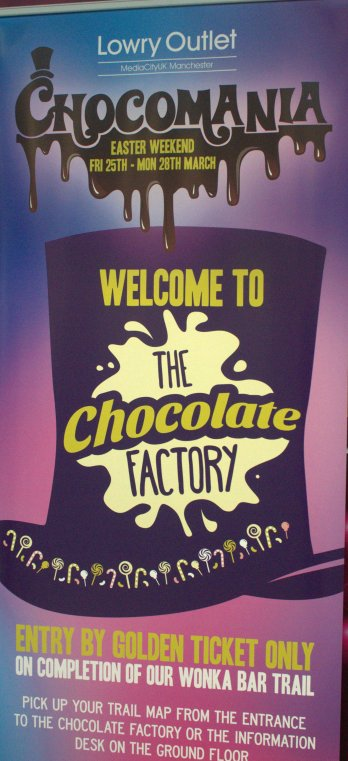 A Trip to Wonka's Chocolate Factory anyone???