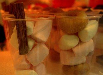 Belgian chocolate Marshamallow Cups
