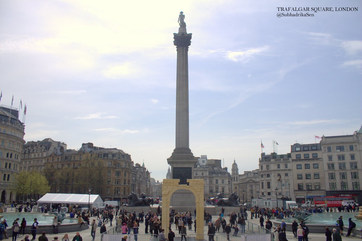 Trafalgar Square and Horse Guards Parade