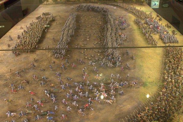 A Scene depicting a battle in progress.