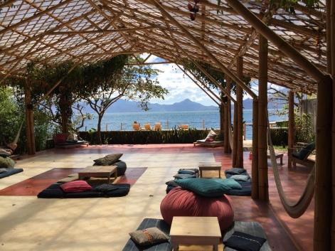 Isla Verde Hotel in Lake Atitlan, Guatemala
